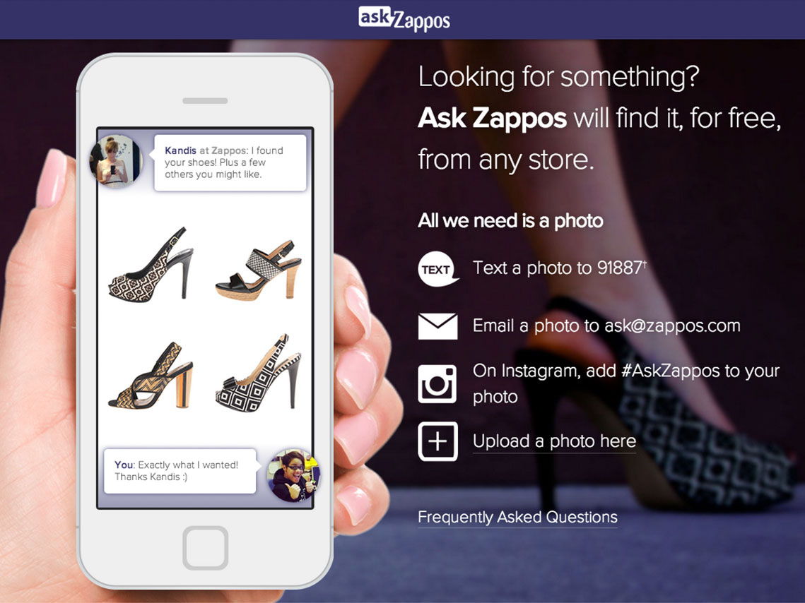 Ask Zappos gallery image 1
