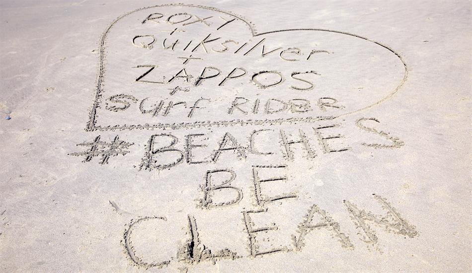 zappos huntington beach cleanup