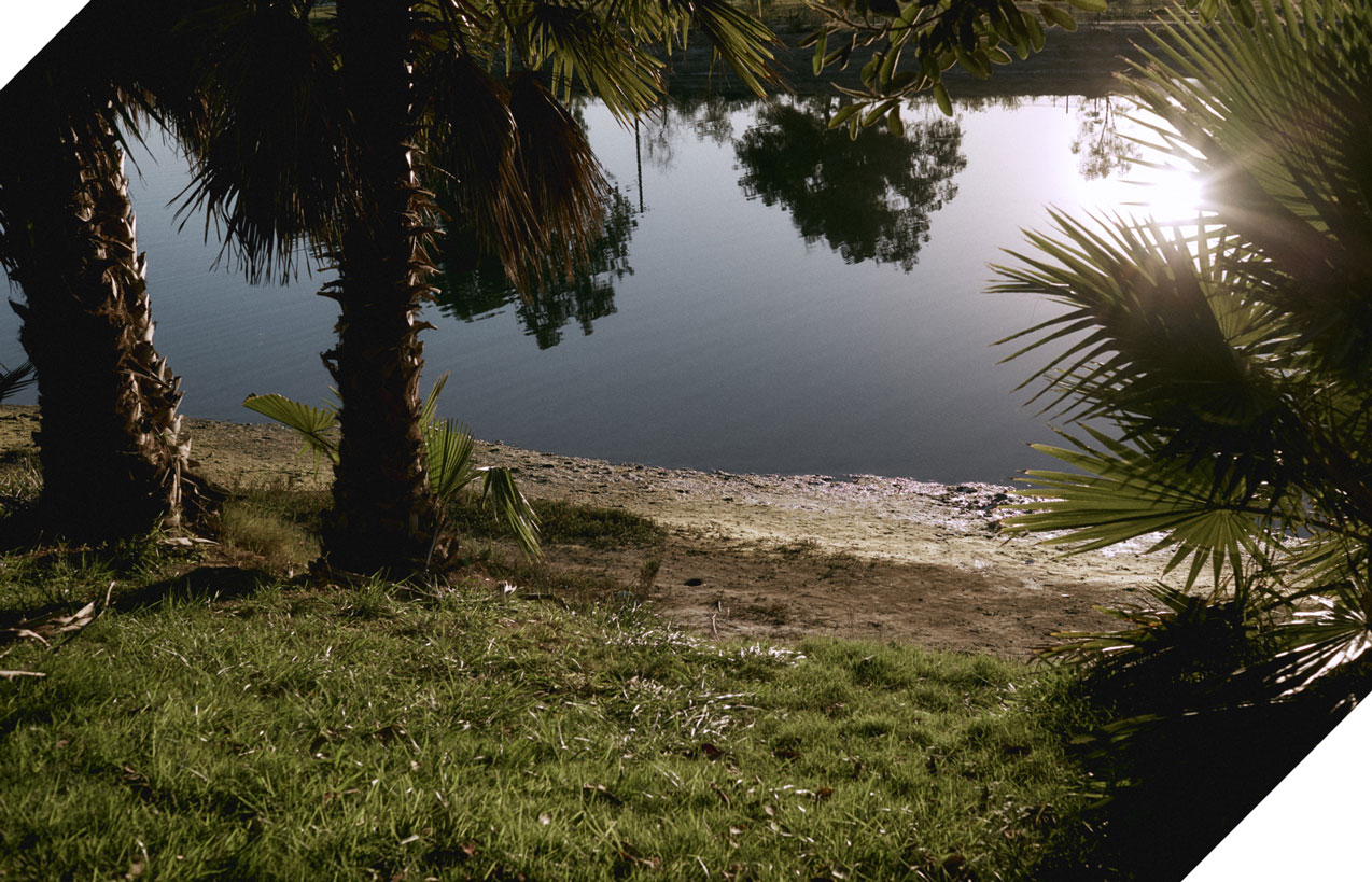 Maly Mann Lagoon