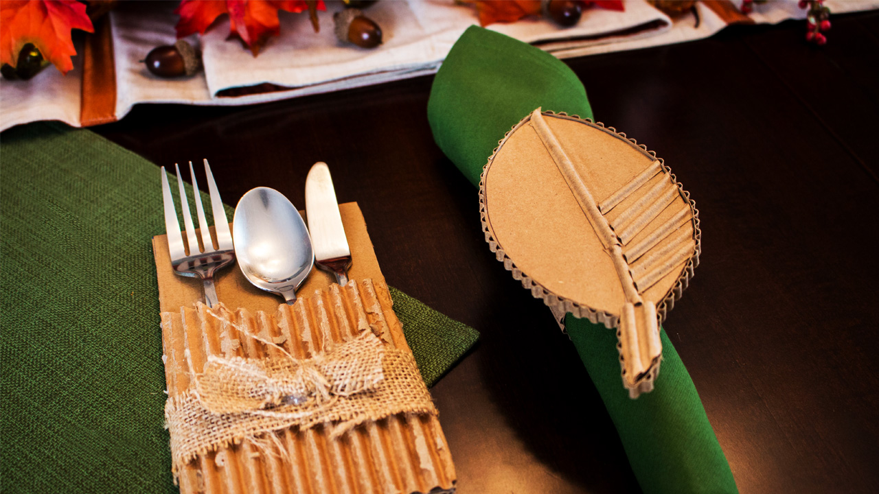 Thanksgiving Cardboard Crafts