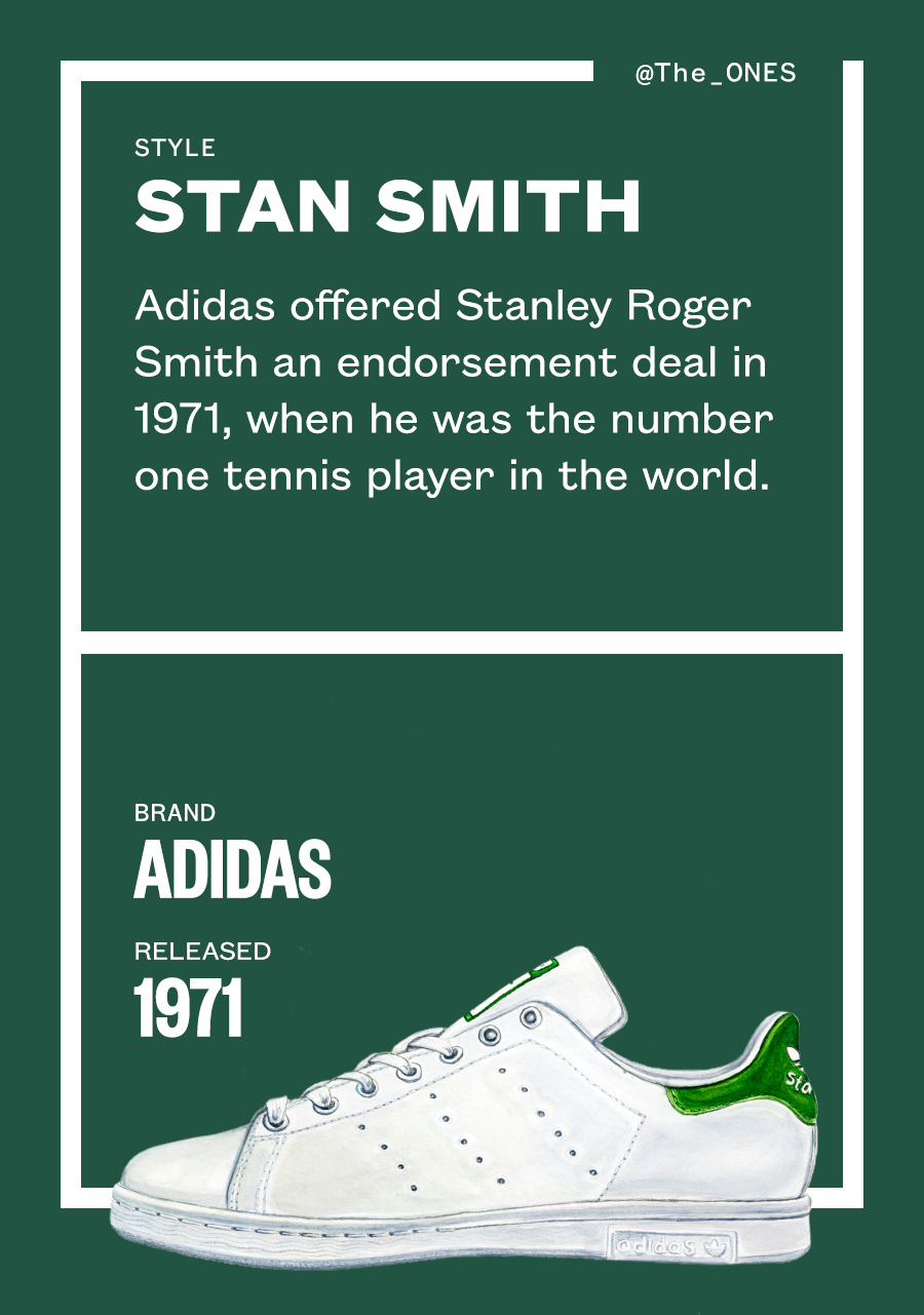 How Stan Smiths Became One Of Fashion s Most Iconic  337243266b99e