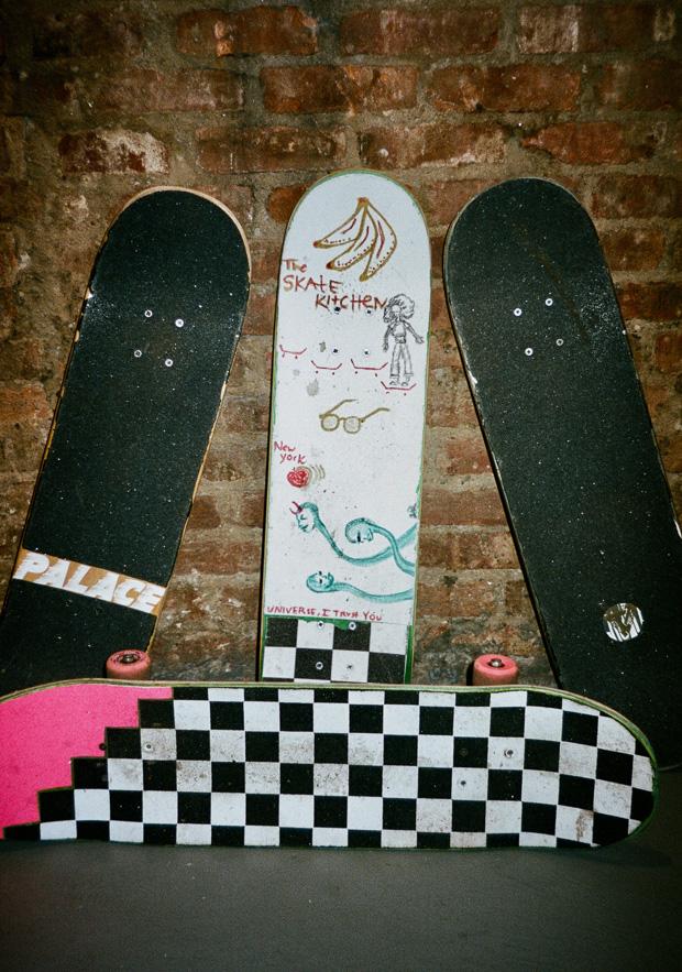 the skate kitchen triptych