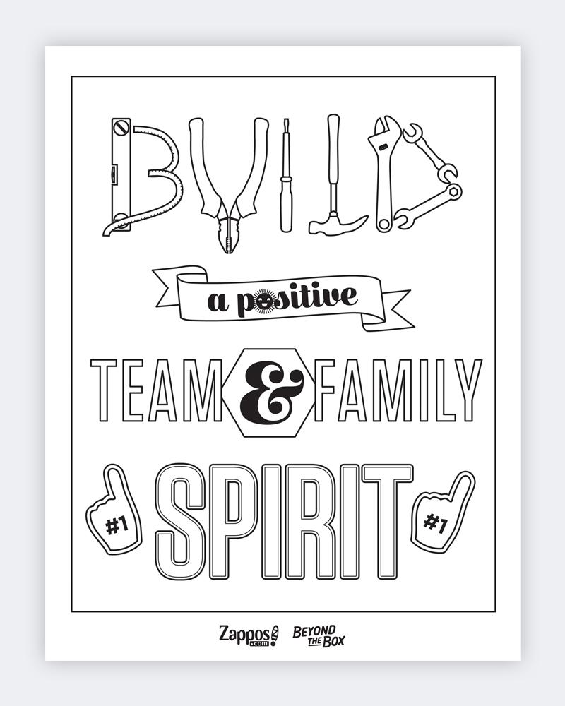 Build A Positive Team And Family Spirit