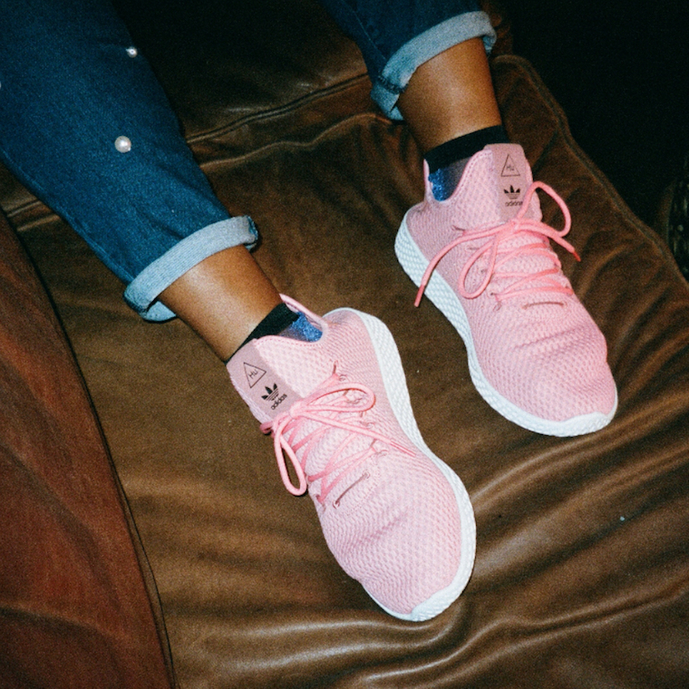 Pink Gray Sneakers