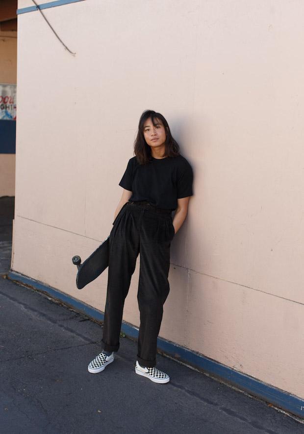 präsentieren verschiedene Stile authentische Qualität Cool Outfit Ideas to Rock With Checkered Vans Slip-Ons ...
