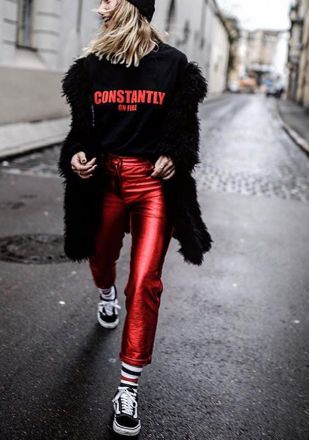 e7f21ba4a495 9 Going-Out Outfits To Rock With Sneakers
