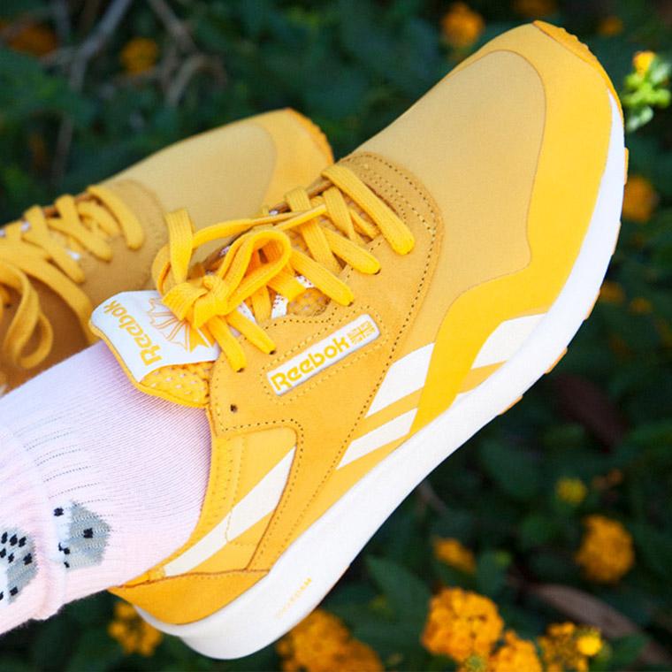 Yellow Reebok Classics